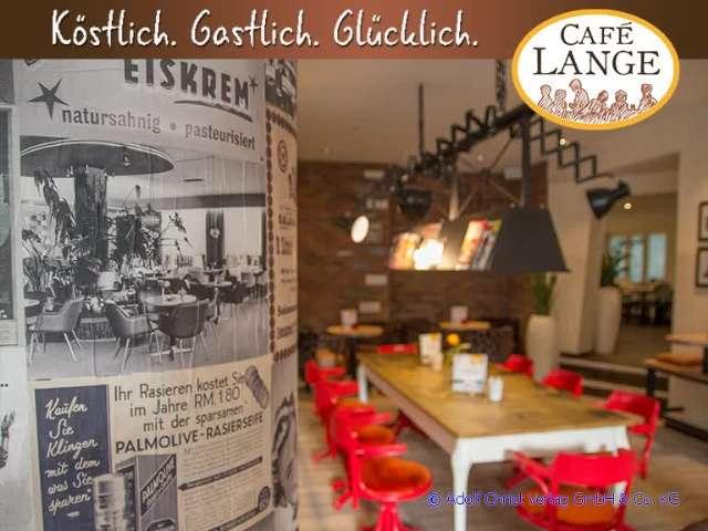Kassel Cafe Lange soon after