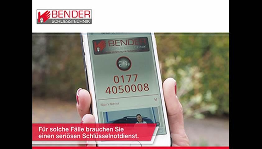 Video 1 Bender Sascha Schliesstechnik Rhein Neckar UG