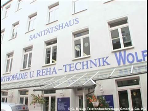 Video 1 Das Sanitätshaus Orthopädie- u. Reha-Technik Wolf GmbH & Co. KG