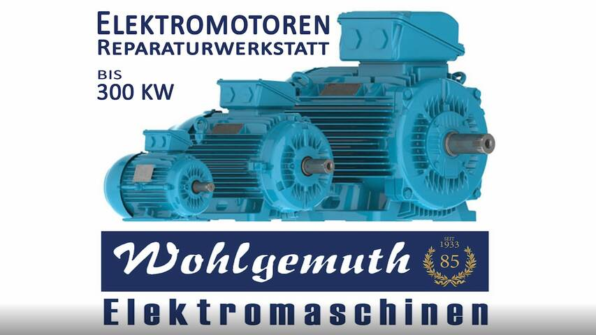 Video 1 Elektromaschinen Wohlgemuth