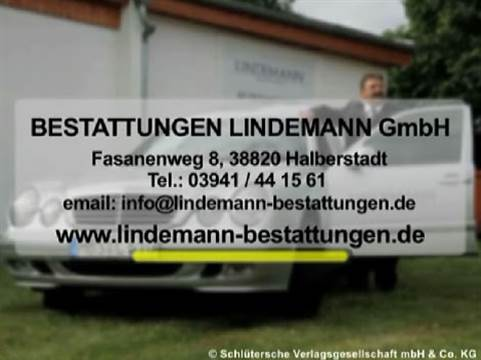 Video 1 Lindemann Bestattungen GmbH