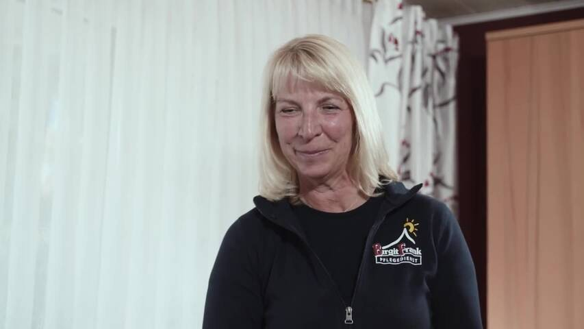 Video 1 Birgit Frank Pflegedienst