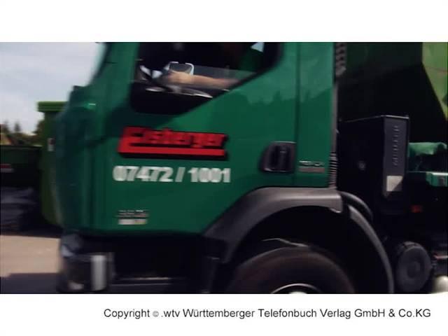 Video 1 Container Abfall-Entsorgung ELSBERGER - Entsorgung, Wertstoffhof Containerdienst