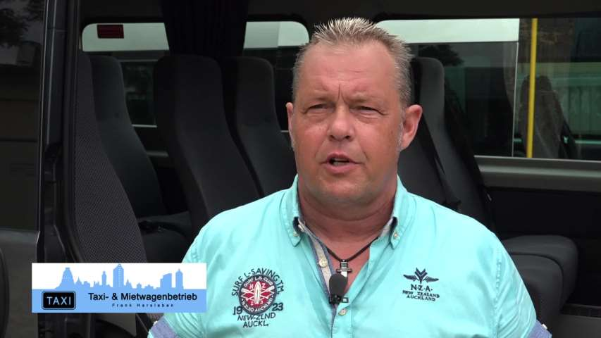 Video 1 Frank Harsleben Taxi- u. Mietwagenbetrieb Frank