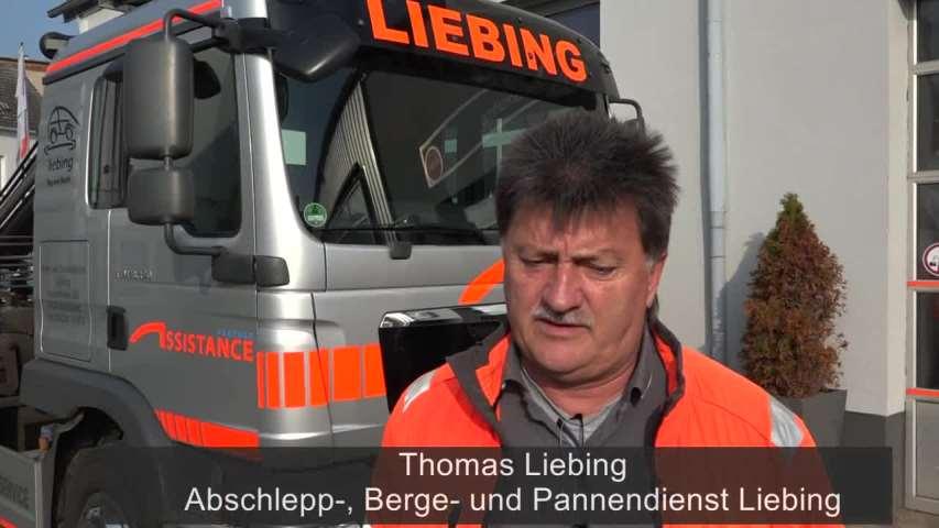 Video 1 Abschleppdienst Liebing