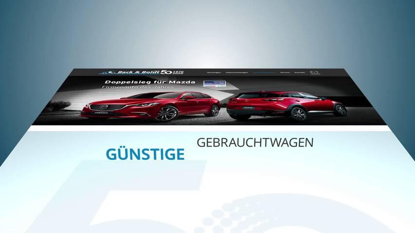 Video 1 MAZDA Autohaus Back & Boldt GmbH
