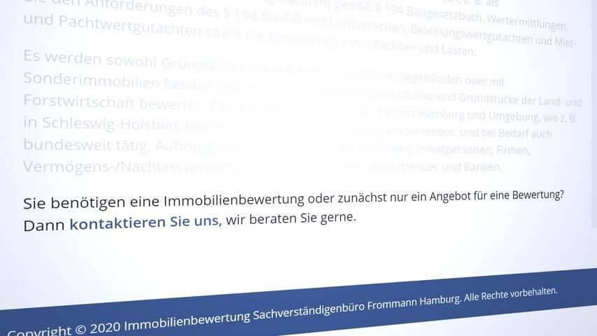 Video 1 Frommann Frauke Dipl.-Ing. Immobiliensachverständige