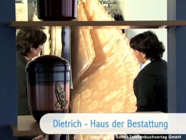 Video 1 Bestattungsinstitut Edmund Dietrich GmbH & Co.KG