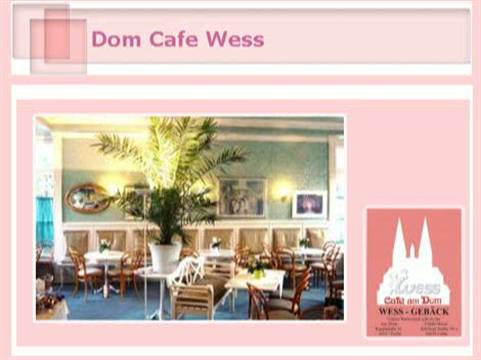 Video 1 Café am Dom Wess Filiale Horas