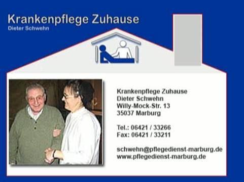 Video 1 Krankenpflege Zuhause Dieter Schwehn