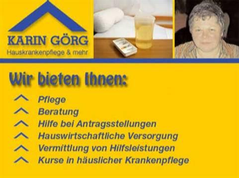 Video 1 Krankenpflege Görg Karin Hauskrankenpflege + mehr GmbH
