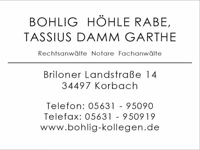 Video 1 Rechtsanwälte Bohlig & Kollegen
