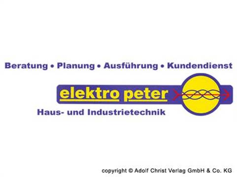 Video 1 Elektro Peter