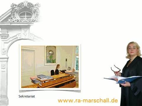 Video 1 Rechtsanwälte Marschall Marina Dr.