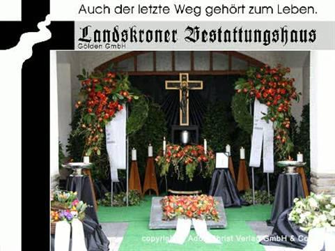 Video 1 Beerdigungen Landskroner Bestattungshaus