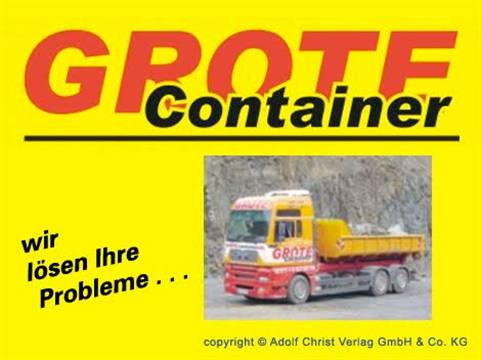 Video 1 Grote Container