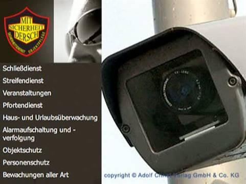 Video 1 Sicherheitsdienst Dersch