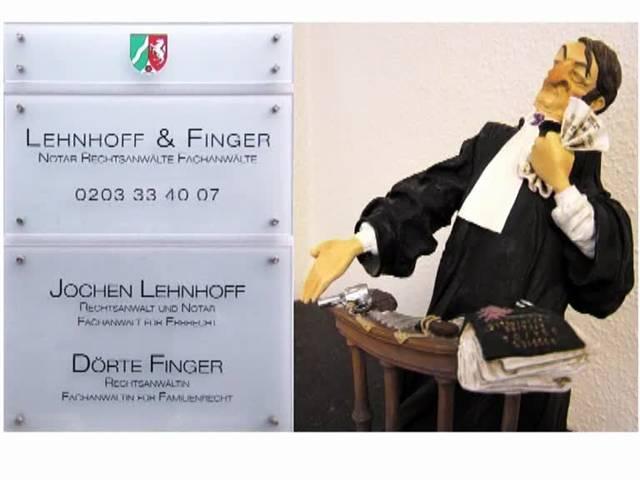 Video 1 Rechtsanwalt Lehnhoff Jochen