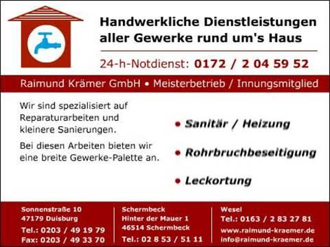 Video 1 Krämer Raimund Ihn. Gradisar & Kissmann GbR