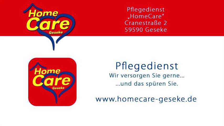 Video 1 HomeCare - Pflegedienst
