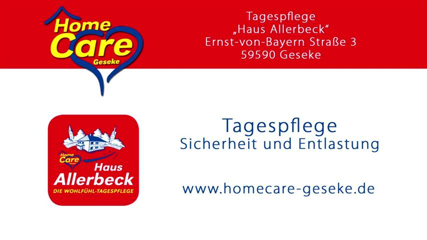 Video 1 HomeCare - betreutes Wohnen
