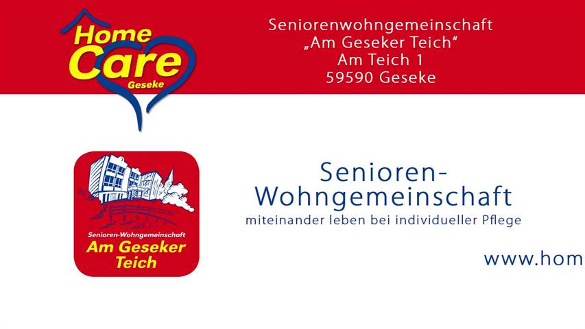 Video 1 HomeCare Tagespflege