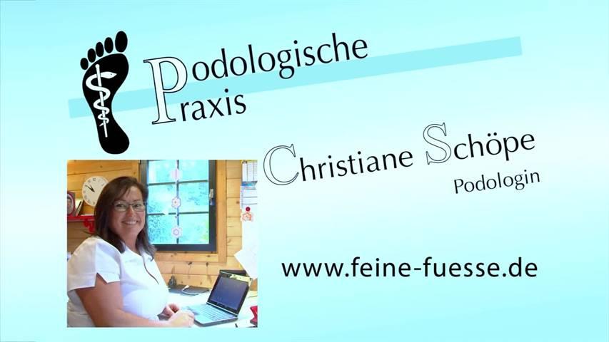 Video 1 Schöpe Christiane Fußpflege