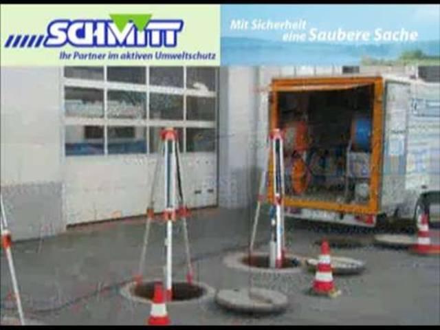 Video 1 Kanalreinigung Kanal Schmitt