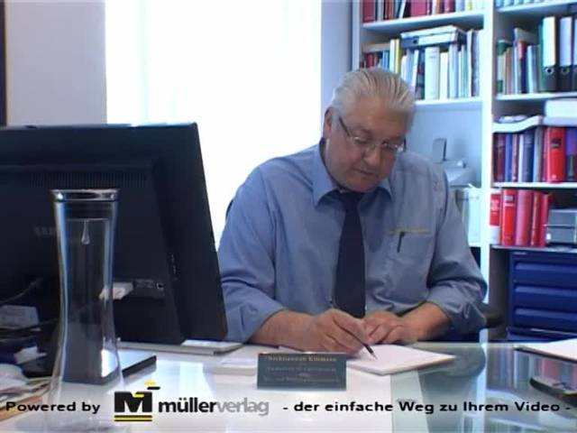 Video 1 Rechtsanwalt Kliemann Thomas