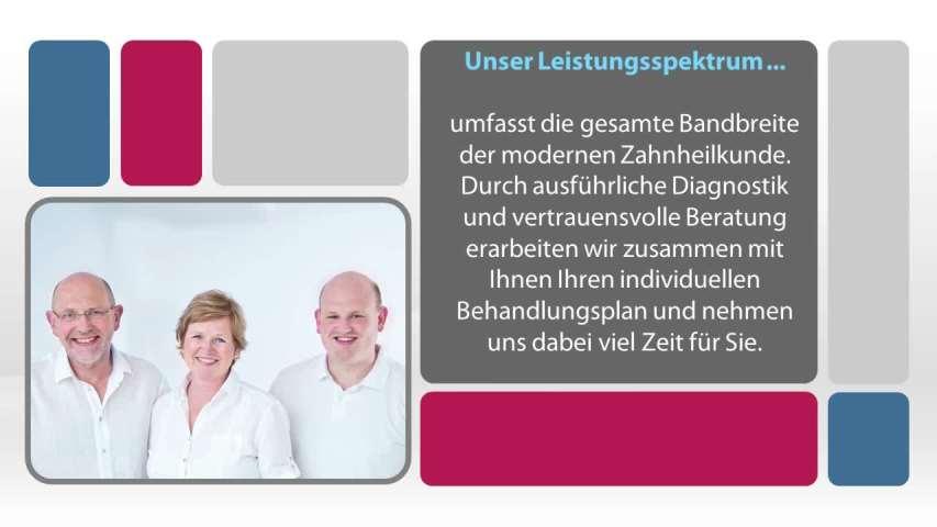 Video 1 Bechmann Peter Dr., Bechmann Maria Dr., Bechmann Cornelius Dr.