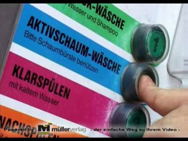 Video 1 Waschpark Fichtelgebirge