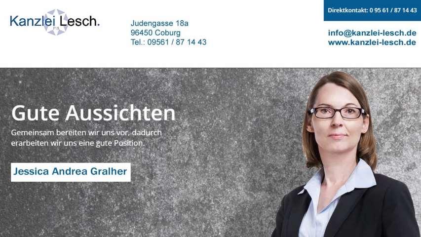 Video 1 Anwalts- und Fachanwaltskanzlei Lesch Peter, Lesch-Lasaridis Bettina , Gralher Jessica A.