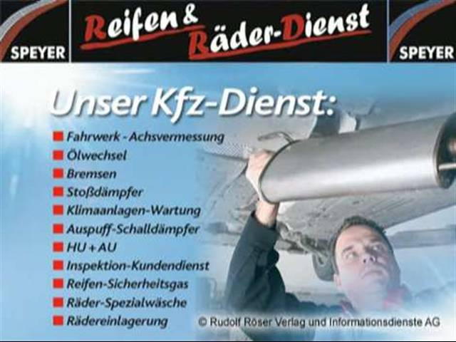 Video 1 Reifen & Räder-Dienst