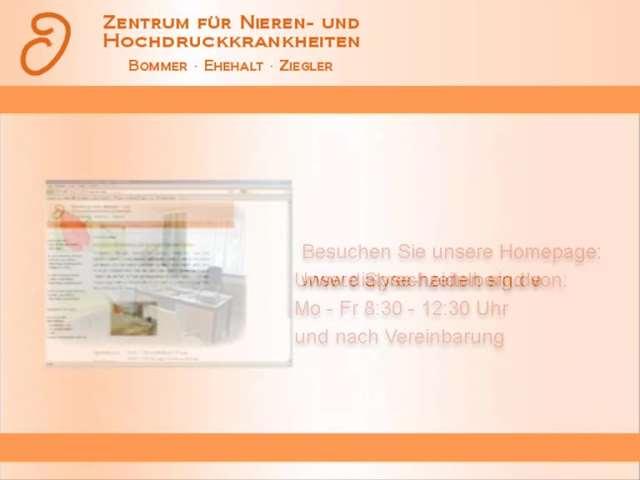 Video 1 Dialysezentrum Heidelberg Bommer, Ziegler, Ehehalt Drs.med.