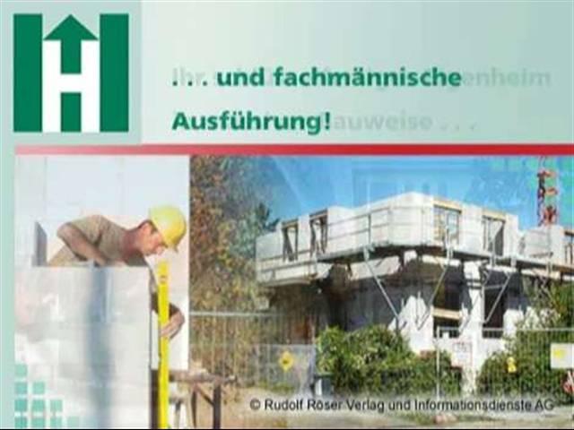 Video 1 Huser GmbH Bauunternehmung