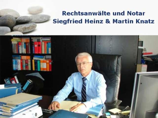 Video 1 Rechtsanwälte Heinz u. Knatz