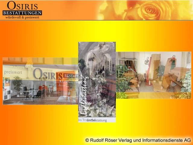 Video 1 Beerdigungen Osiris