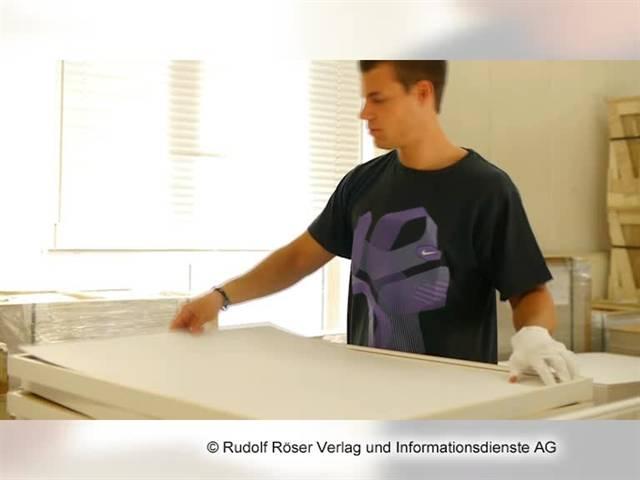 Video 1 Bilderrahmen Max AAB Bilderrahmen GmbH & Co. KG