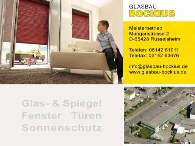 Video 1 Glasbau Bockius
