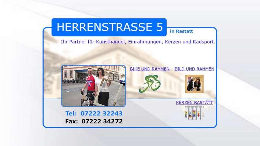 Video 1 Burkhard , Bild + Bike + Rahmen
