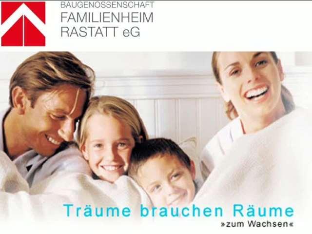 Video 1 Baugenossenschaft Familienheim Rastatt e.G.