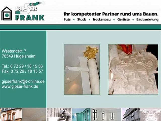 Video 1 Frank Gipser- und Trockenbau GmbH
