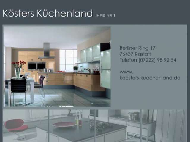 Video 1 Köster Küchen