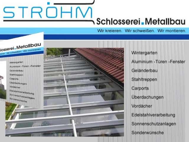Video 1 Ströhm GmbH , Schlosserei, Metallbau