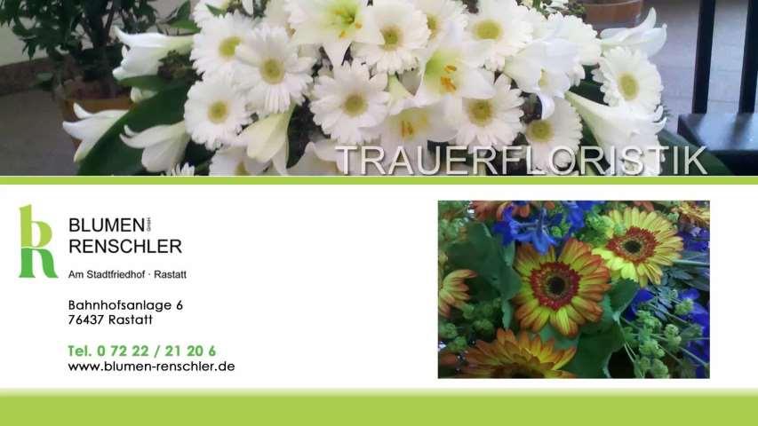 Video 1 Renschler GmbH Blumen