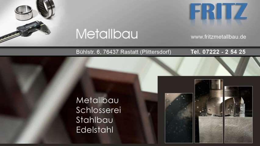 Video 1 Fritz Metallbau