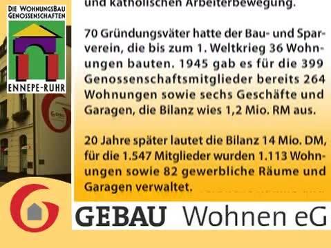 Video 1 GEBAU Wohnen eG Wohnungsbaugenossenschaft