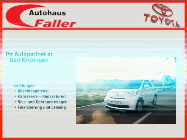 Video 1 Faller Autohaus