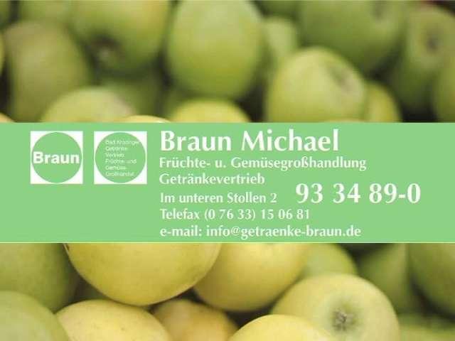 Video 1 Früchte- u. Gemüsegroßhandlung Braun , Getränkevertrieb