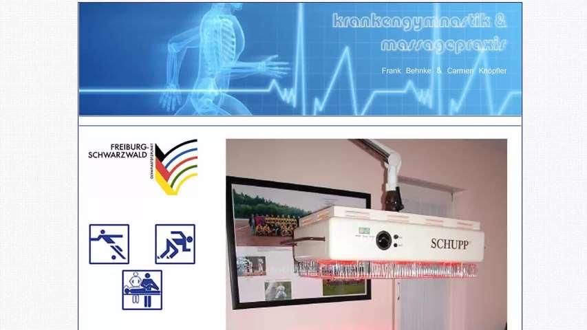 Video 1 Behnke Frank, Physiotherapie